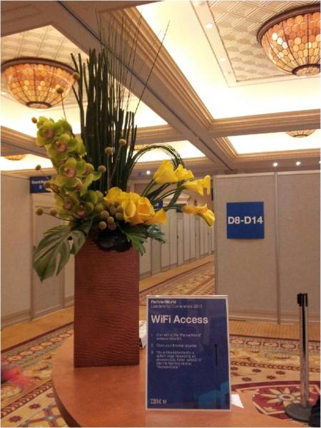 Flowers for your Events in Las Vegas | Show flowers | Convention Flowers