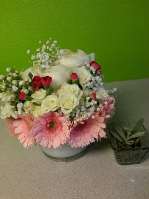 Event centerpieces in Las Vegas